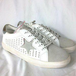 Steve Madden Analfi Star Womens Sneakers Size 10